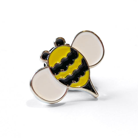 Bee Enamel Art Pin