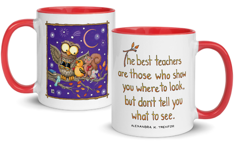 """Best Teachers"" Mug"
