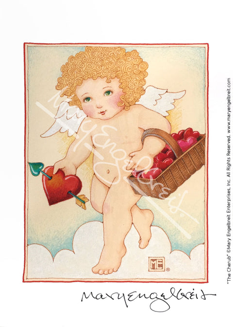 The Cherub Mini Print