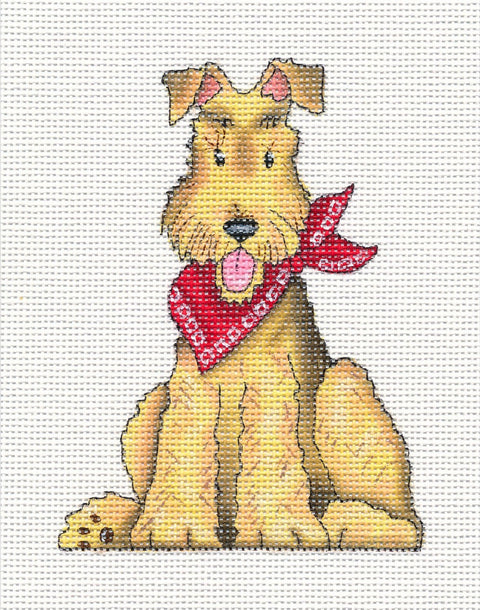 Needlepoint Canvas: Maddie Lou the Dog