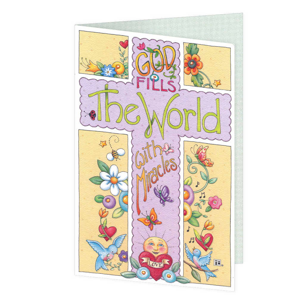 Easter Miracles Greeting Card