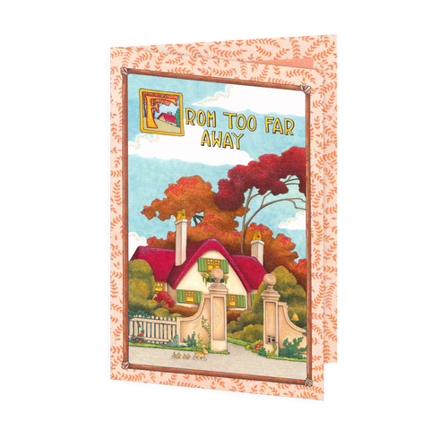 Happy Thanksgiving from Far Away Greeting Card