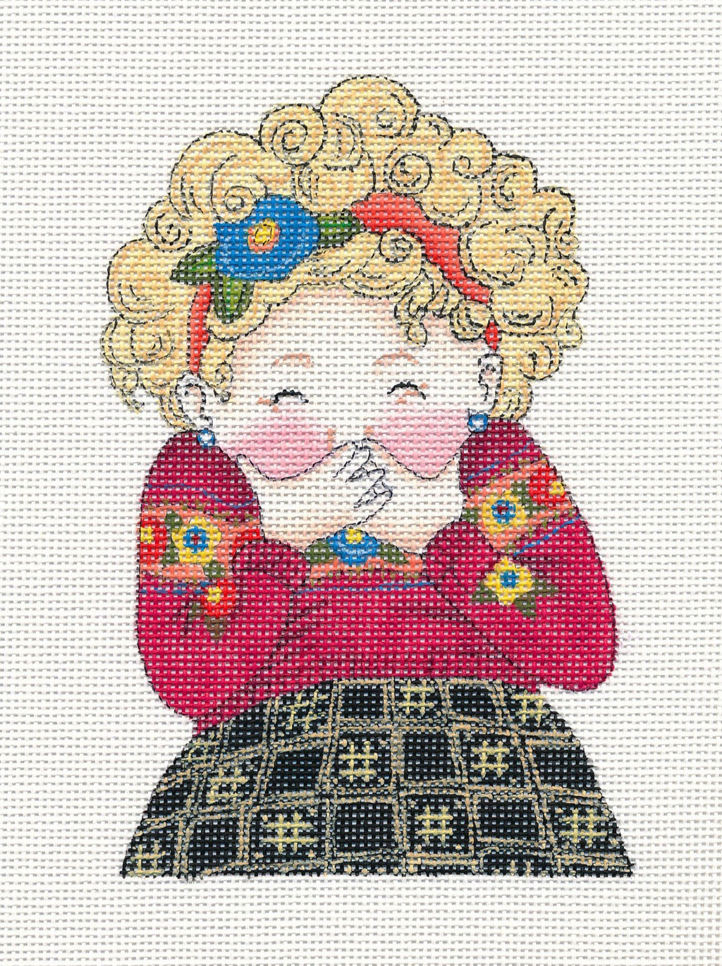 Needlepoint Canvas: Laughing Matters