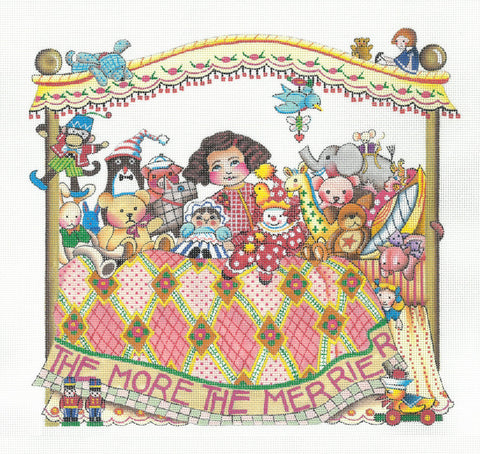 Needlepoint Canvas: More The Merrier