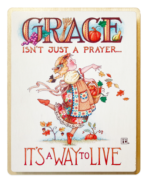 Grace Wooden Wall Art