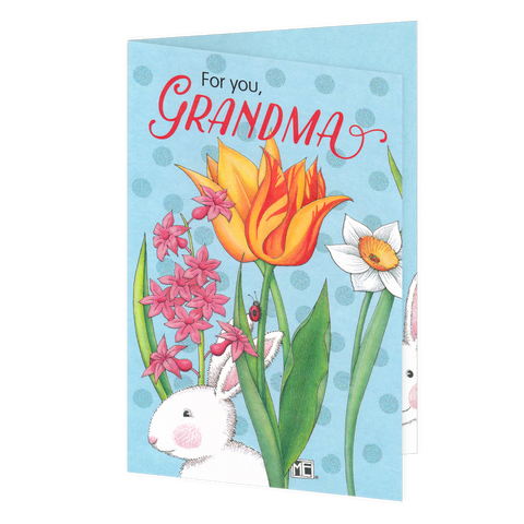 For You Grandma Easter Greeting Card