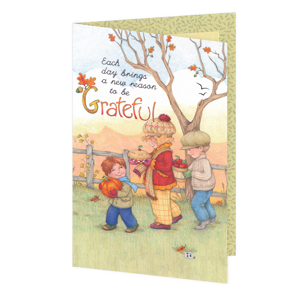 Grateful Thanksgiving Greeting Card