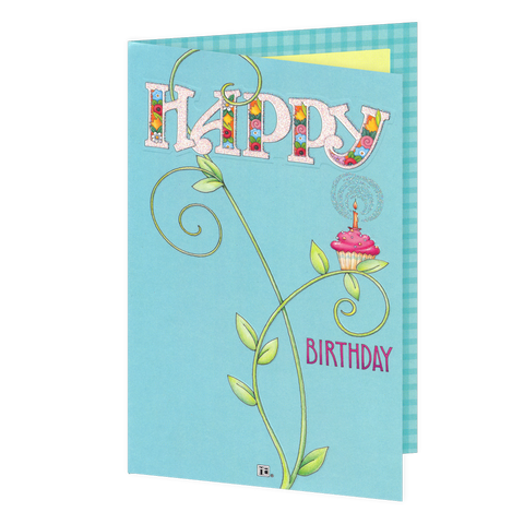 Fantastically Floral Birthday Card