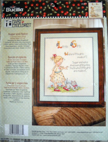 Sugar and Spice Counted Cross Stitch Kit