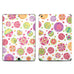 Phone or Tablet Case/Skin: Round Flowers