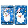 Phone or Tablet Case/Skin: Santa Snowflake