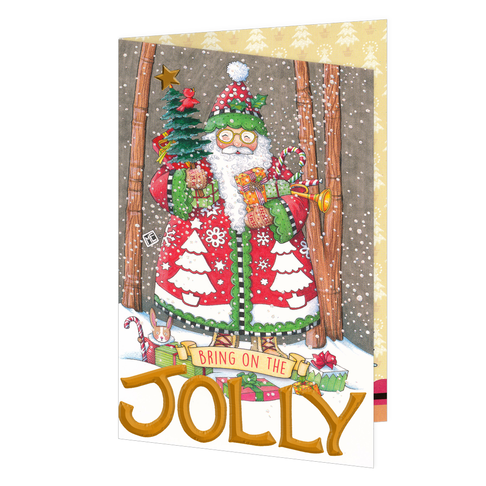 Bring on the jolly christmas greeting card mary engelbreit bring on the jolly christmas greeting card m4hsunfo