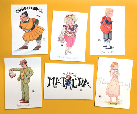 Matilda Postcards