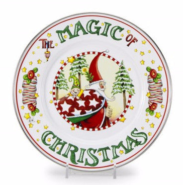 Christmas Magic Salad Plate
