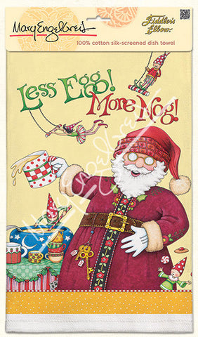 Less Egg, More Nog Dish Towel
