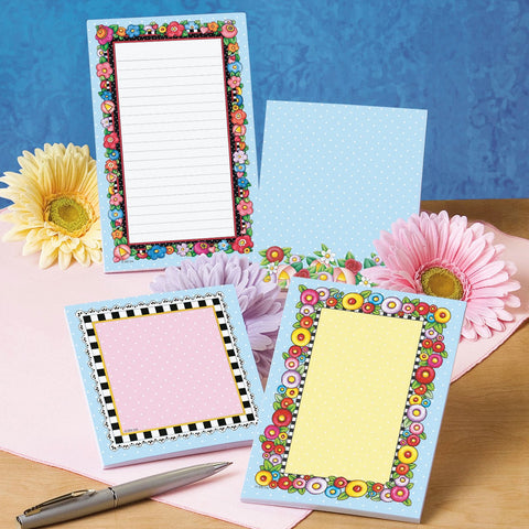 Floral Notepad Set
