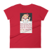 """Read Before Commenting"" Women's T-shirt"