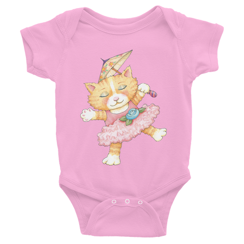 """Kitty Princess"" Infant Bodysuit"