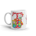 "A Merry Little Christmas ""Letter T"" Mug"