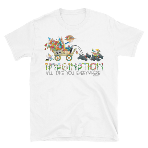 """Journey of Imagination"" Unisex T-Shirt"