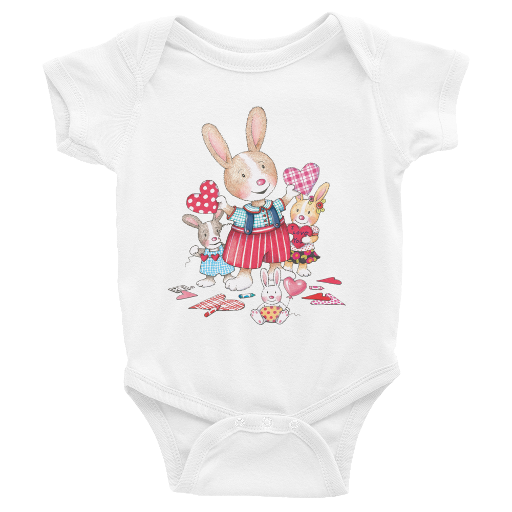 """Bunnies"" Bodysuit"