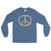 """Floral Peace"" Long Sleeve Shirt"