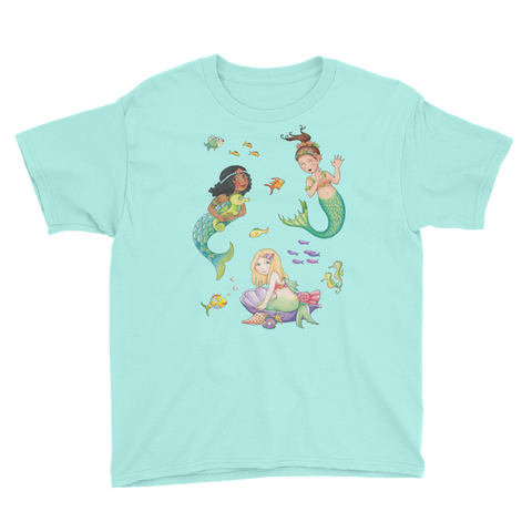 """Mermaids Adrift"" Youth T-Shirt"