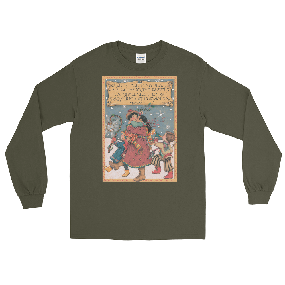 """We Shall Find Peace"" Long Sleeve Shirt"
