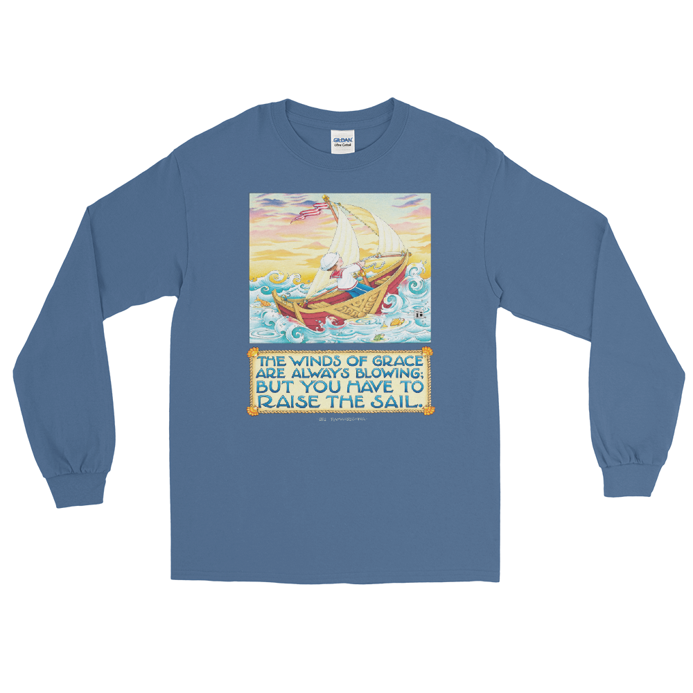 """Winds of Grace"" Long Sleeve Shirt"