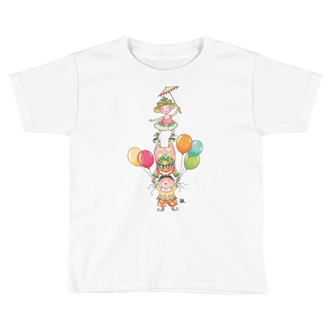 """Circus Tumblers"" Little Kids T-Shirt"