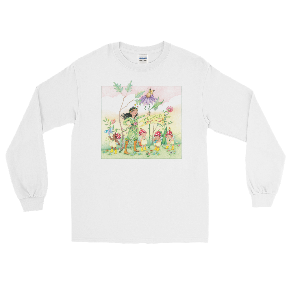 """Flower Power"" Long Sleeve Shirt"