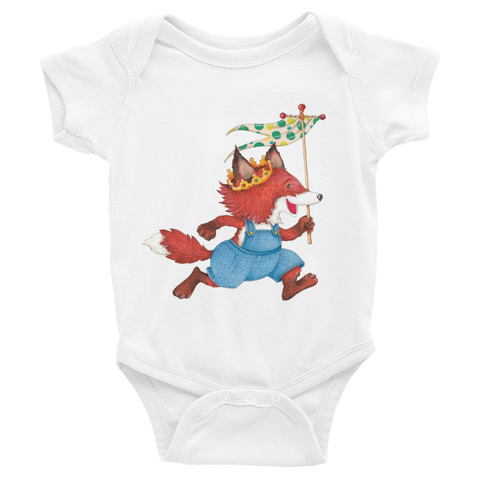 """Fox Prince"" Infant Bodysuit"