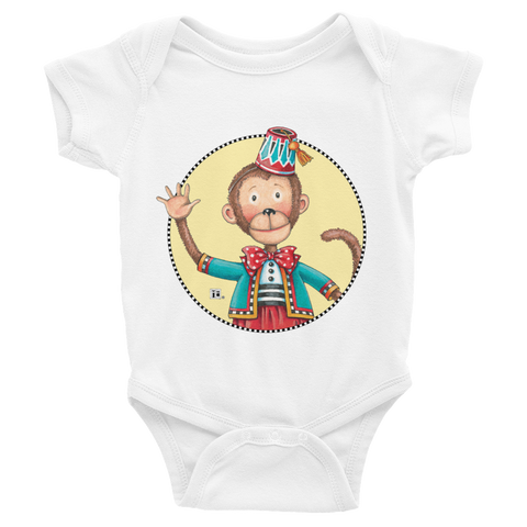 """Baby Monkey"" Infant Bodysuit"