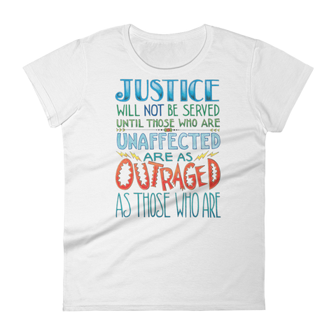 """Justice"" Women's T-shirt"