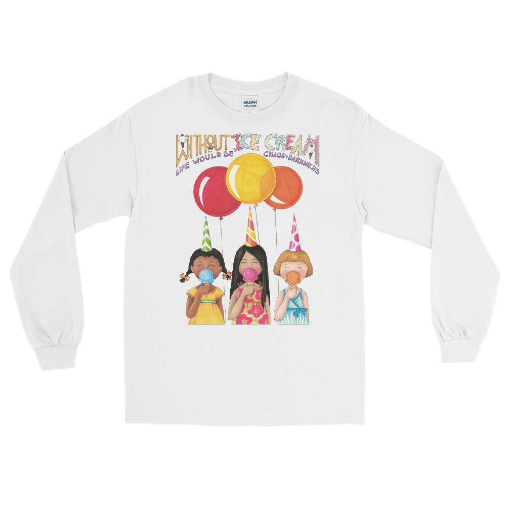 """Ice Cream"" Long Sleeve Shirt"