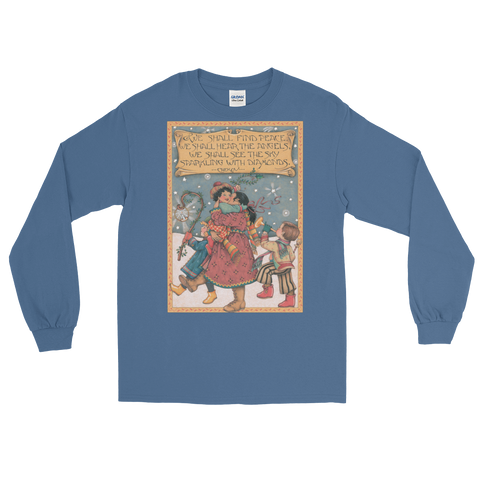"""We Shall Find Peace"" Longsleeve Shirt"