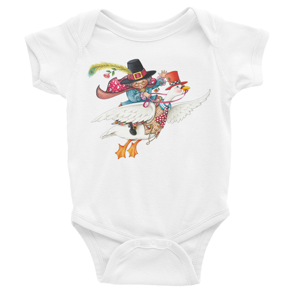 """Mother Goose"" Infant Bodysuit"