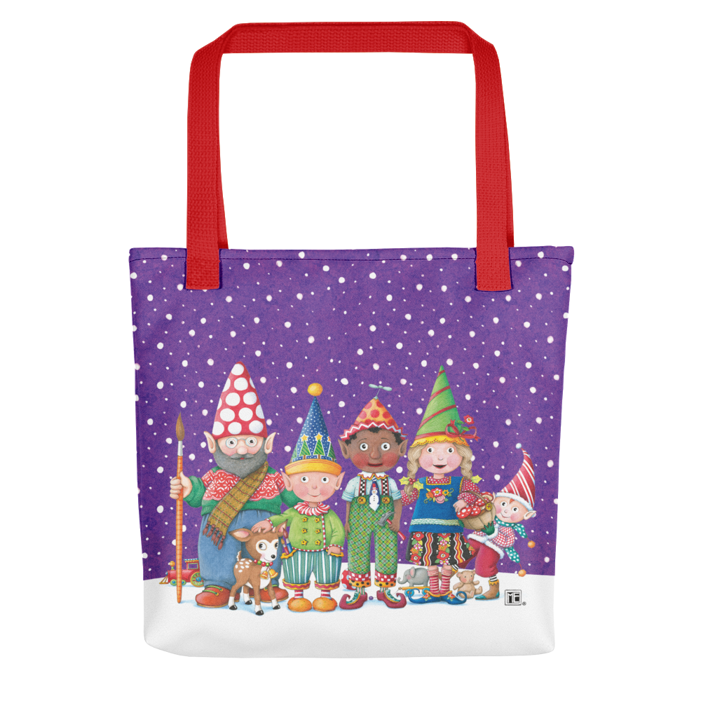 Selection of Elves Tote Bag