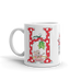 "A Merry Little Christmas ""Letter H"" Mug"