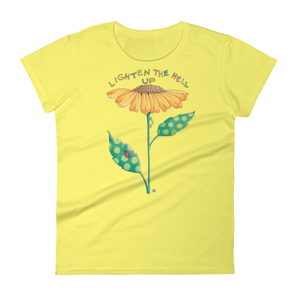 """Lighten Up"" Women's T-shirt"