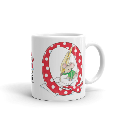 "A Merry Little Christmas ""Letter Q"" Mug"