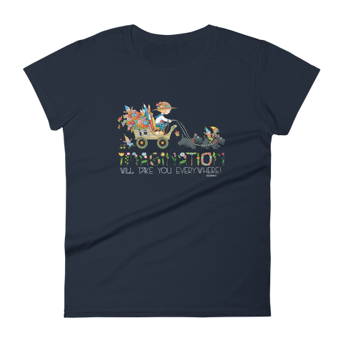 """Journey of Imagination"" Women's T-shirt"