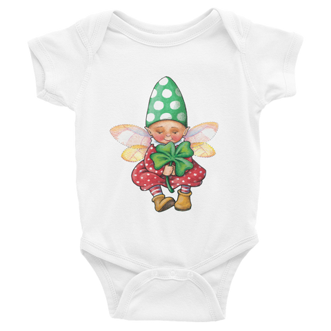 """Toadstool Elf"" Infant Bodysuit"
