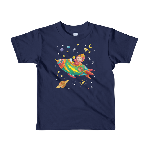 """Rocket Pilot"" Little Kids T-Shirt"