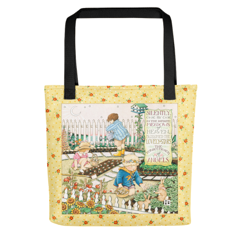 Forget Me Nots Of Angels Tote Bag