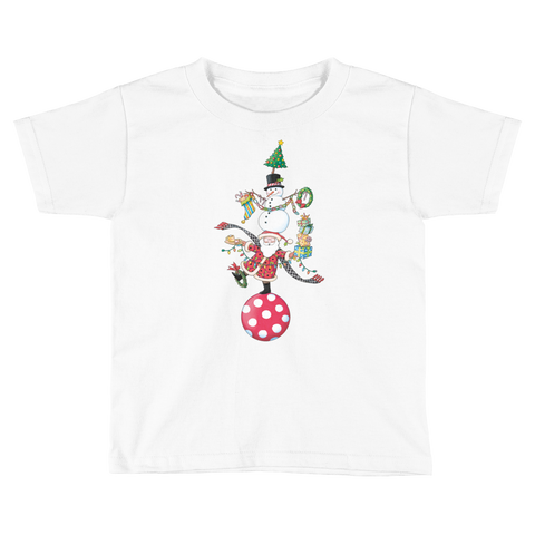 """Christmas Circus"" Little Kids T-Shirt"