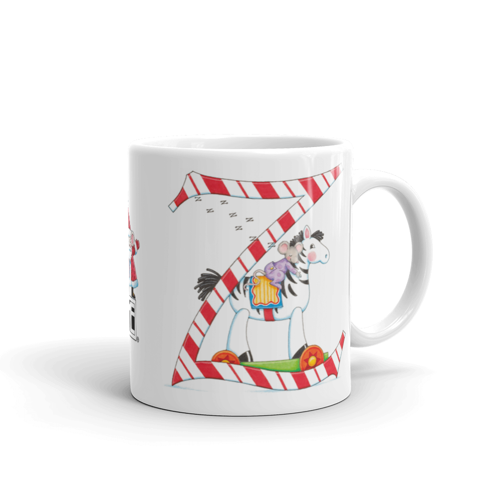 "A Merry Little Christmas ""Letter Z"" Mug"