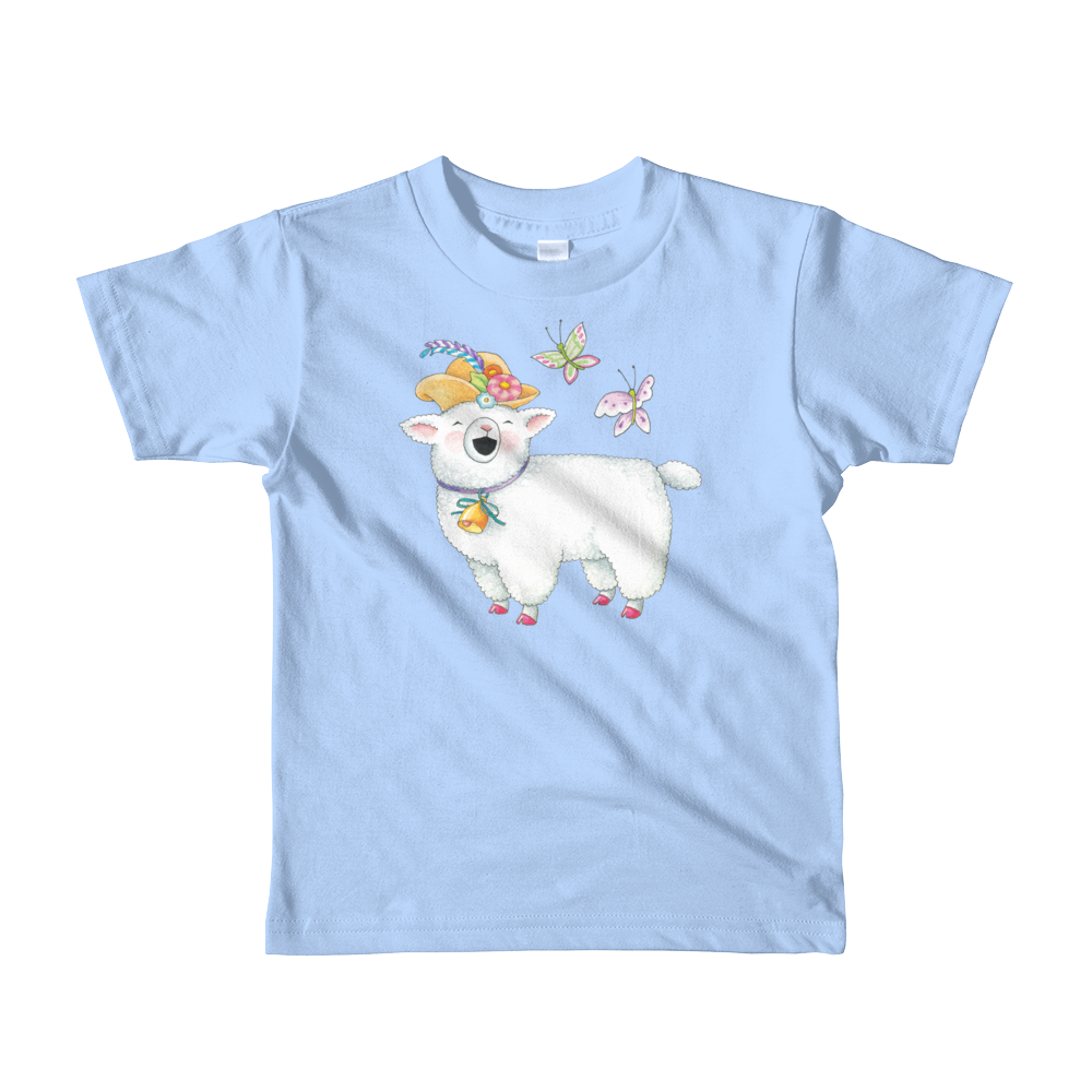 """Chapeau Sheep"" Little Kids T-shirt"