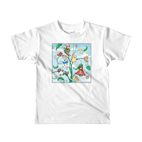 """Fairytale Beanstalk"" Little Kids T-Shirt"
