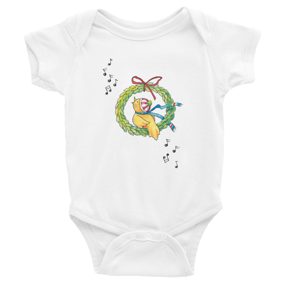 """Winter Songbird"" Infant Bodysuit"